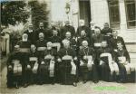 Grup de prelati in perioada interbelica,